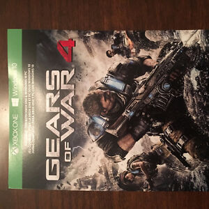 Gears of War 4 Full Game Download $45 OBO