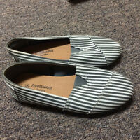stripped flats