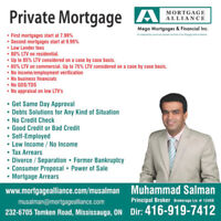Private - First/Second Mortgage