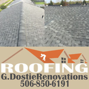 Roofing, Free Quote, Moncton and Surrounding Areas