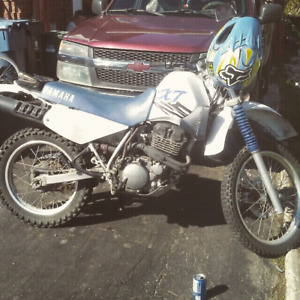 Dirtbike 99 yamaha xt 350 enduro street legal 1500 obo