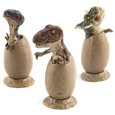 3 pcs Magic Dinosaur Eggs Hatching Dino Growing Cute Children Kids Toys Gift (Dinosaur Egg Hatching)