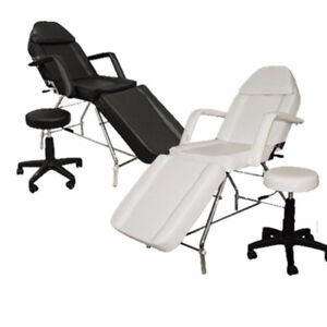 Combo $250 Stationary Facial Table SPA tattoo salon chair+STOOL