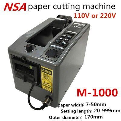 Nsa Automatic Packing Tape Dispenser M-1000 Tape Adhesive Cutting Cutter Machine