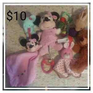 Infant girls toy lot