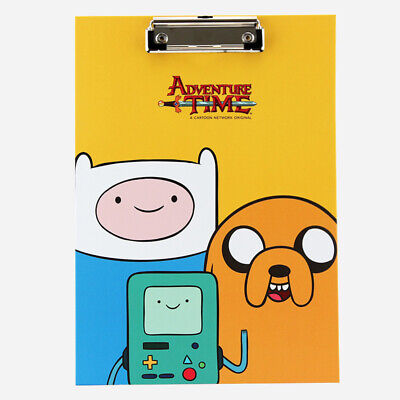 Adventure Time File Document Holder Clip Board Paper Organizer School Office