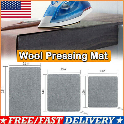 Wool Pressing Mat Ironing Pad High Temperature Ironing Board Felt 3 Size