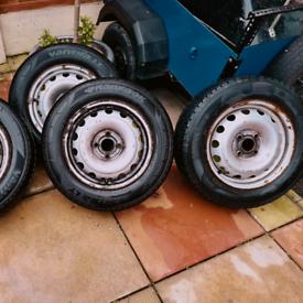 Vauxhall corsa/vauxhall combo wheels for sale