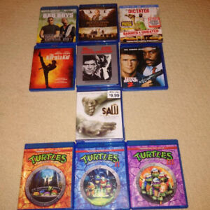 ***Various DVD's and Blu Ray's For Sale***