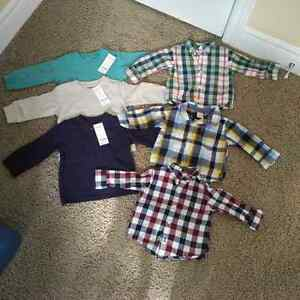 Gymboree Toddler Boy's shirts 12-18 months