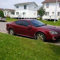 2005 Pontiac Grand Prix 4 Door Sedan