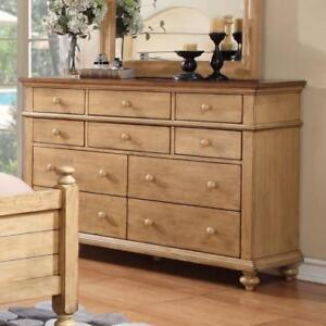 NOW AVAILABLE - WINNERS ONLY INC Quaint Retreat 10-Drawer Dresser Up To 50% Off Local Retailer Prices!