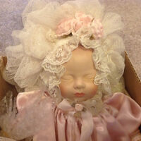 """12"""" Victorian porcelain baby doll"""