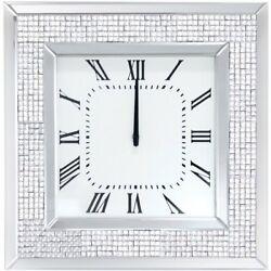 ACME Iama Square Mirrored Wall Clock