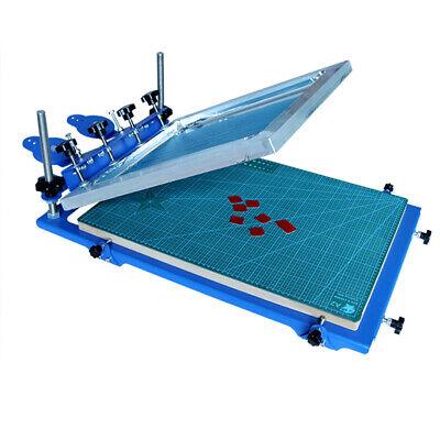 1color 3d Screen Printing Machine Micro-registration Silk Screen Printing Press