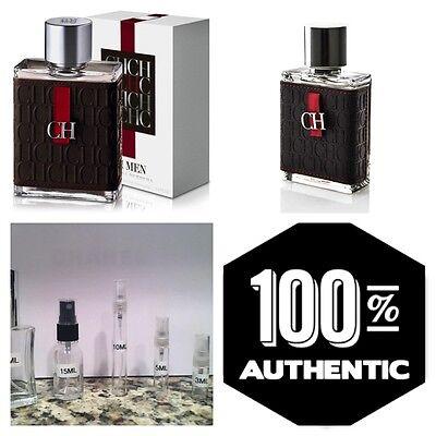 Carolina Herrera Ch Men Guaranteed Authentic Sample Decants 5Ml 10Ml 15Ml 30Ml