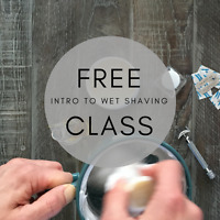 Free Introduction to Wet Shaving Class