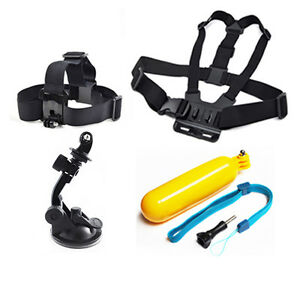 Chest-Head-Mount-Floating-Grip-Car-Suction-Accessories-For-GoPro-2-3-4-5-Camera