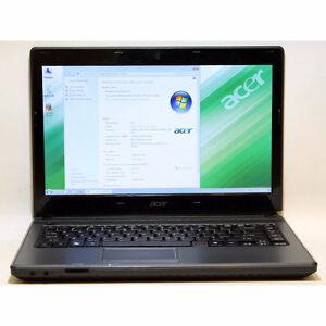 Acer Aspire 4349 laptop Celeon Webcam 2GB RAM 320GB WiFi HDMI 14