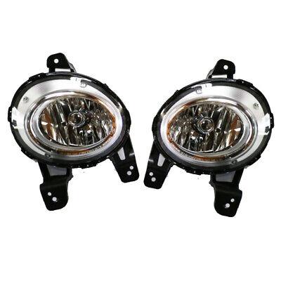 Fog Lamp Light Assembly For 2011 Hyundai Azera TG 922013L500 + 922023L500 SET