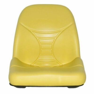 2 YELLOW HIGH BACK SEATS JD JOHN DEERE GATOR,4X2,4X4,4X6,TURF,CX,TE,TH,TX #JR