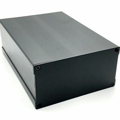 Aluminum Pcb Instrument Box Black Aluminum Enclosure Electronic Project Case