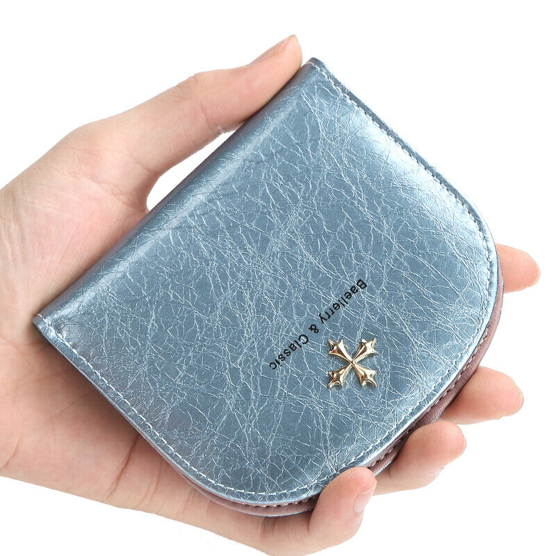 Small Mini Compact Wallet Clutch Credit Card Holder Slim Pocket Purse for Women Clothing, Shoes & Accessories