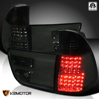 - 2000-2006 BMW X5 E53 Smoke LED Tail Lights Rear Brake Lamps Left+Right Pair