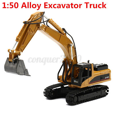 HUINA 1:50 Car Truck Construction Vehicle Excavator Equipment Model Xmas Gifts