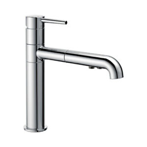 Delta 4159 Trinsic Single Handle Pull Out Kitchen Faucet Chrome