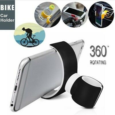 360° Car Phone Air Vent Mount Cradle Stand Holder For Smart Phone Support
