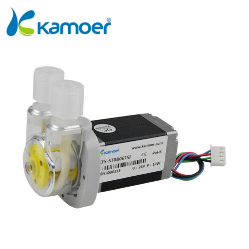 Kamoer KFS-S06 24V Stepper Motor Mini Peristaltic Pump Metering Dosing