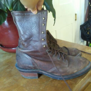 Leather Riding Boots Size 10.5