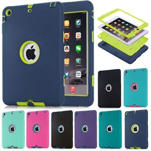 Brand New - Shockproof Case for iPad Mini 1, 2, 3 - Blk