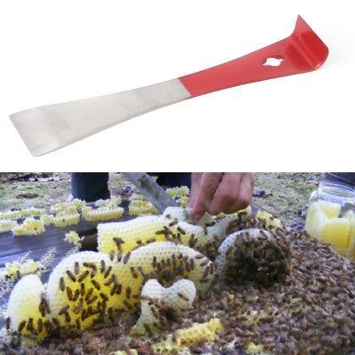 Beekeeping Stainless Steel J Shape J-type Curved Tail Bee Hive Hook Scraper Tool