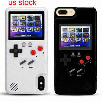 Retro Game Phone Case Color Screen Gameboy for iPhone XR XS MAX 11 Pro MAX US