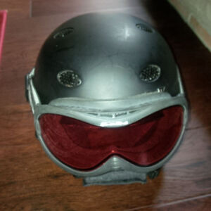 Bolle helmet and goggles