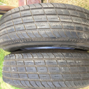 Trailer tires ST225 75 R15 and rims
