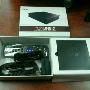 Avov TV online N 4K, Cellon 4K android box and Mag boxes