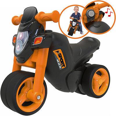 BIG Sport-Bike Motorrad (Schwarz-Orange)
