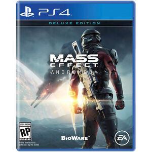 mass effect andromeda deluxe ps4 new sealed