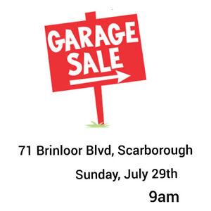 Huge Garage Sale This Sunday!