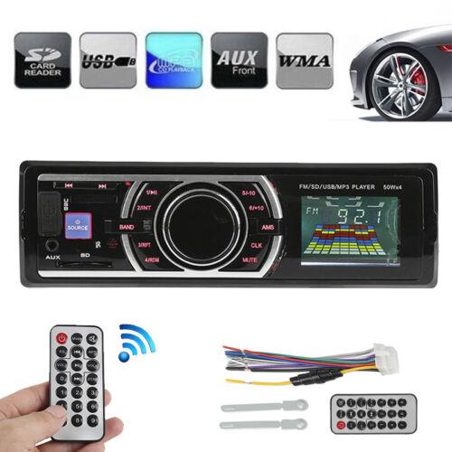 Bluetooth Car Stereo Audio In-Dash FM Aux Input Receiver SD USB MP3Radio Player
