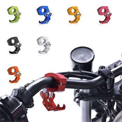 1*Metal Motorcycle Handlebar Hanger Hook Helmet Luggage Bag Holder Double Hooks