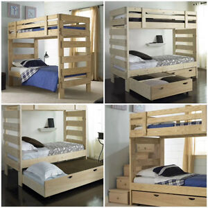 LIFETIME Guarantee* Factory Direct Solid Wood Bunks & Beds