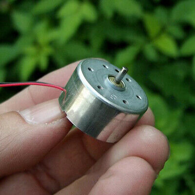 Dc3v 5v 6v 6600rpm Micro Rf-300ca 24mm Round Solar Power Mute Motor Diy Toy Fan