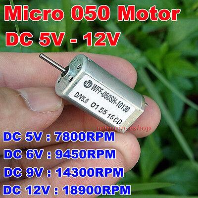 Dc 5v 6v 9v 12v 18900rpm Large Torque Magnetic Mini Ff-050sh Motor Diy Toy Car
