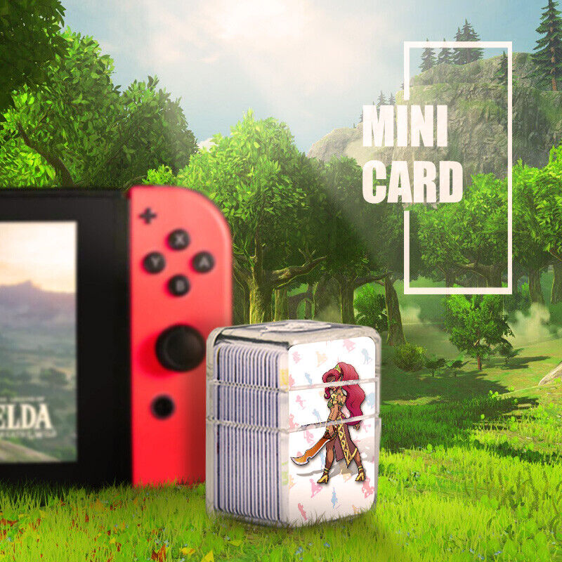 US 23X NFC PVC Tag Card LEGEND BREATH OF THE WILD WOLF LINK For Toy Switch WII U