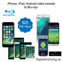 iPhone, iPod, iPad, Android phone and tablet video transfer