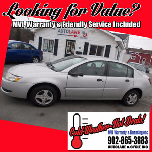 2005 Saturn ION  Sedan Only 147K Clean Car $2995